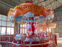 21 Seats Auspicious Carousel Ride for Sale