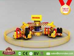 24 Seats Funfair Rides Energy Storm for Sale