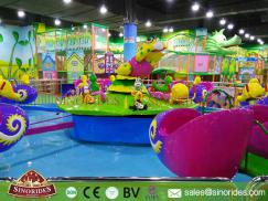 Water Park Rides Kids Carousel Snail Attacking for Sale