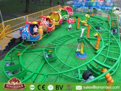 Kids Snail Spinning Roller Coaster Rides for Sale