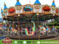 36 Seats Upper Transmission Luxury Carousel for Sale