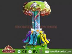 6 Seats Children Rides Mushroom Tower for Sale