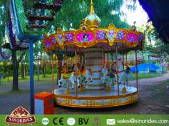 8 Seats Luxury Kids Carousel Rides for Sale