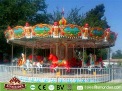 Amusement Park Rides 24 Seats Carousel for Sale
