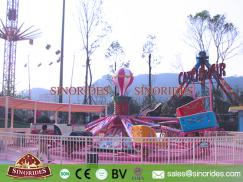 Funfair Rides 32 Seats Catch N Air Carousel for Sale