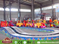Kids Track Train Rides Convoy Race for Sale