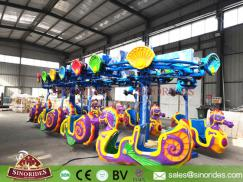 Flying Seahorse Carousel Amusement Ride for Sale